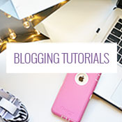 Blogging Tutorials